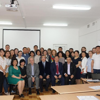 April 2019, TCD Training Course for South-Kazakhstan Medical Academy (Shymkent, Kazakhstan)