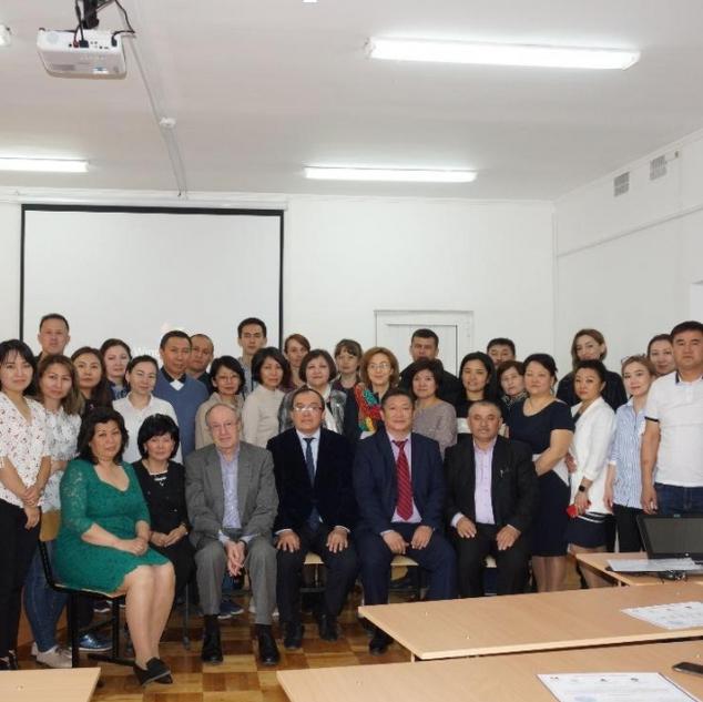 April 2019, TCD Training Course for South-Kazakhstan Medical Academy (Shymkent, Kazakhstan)