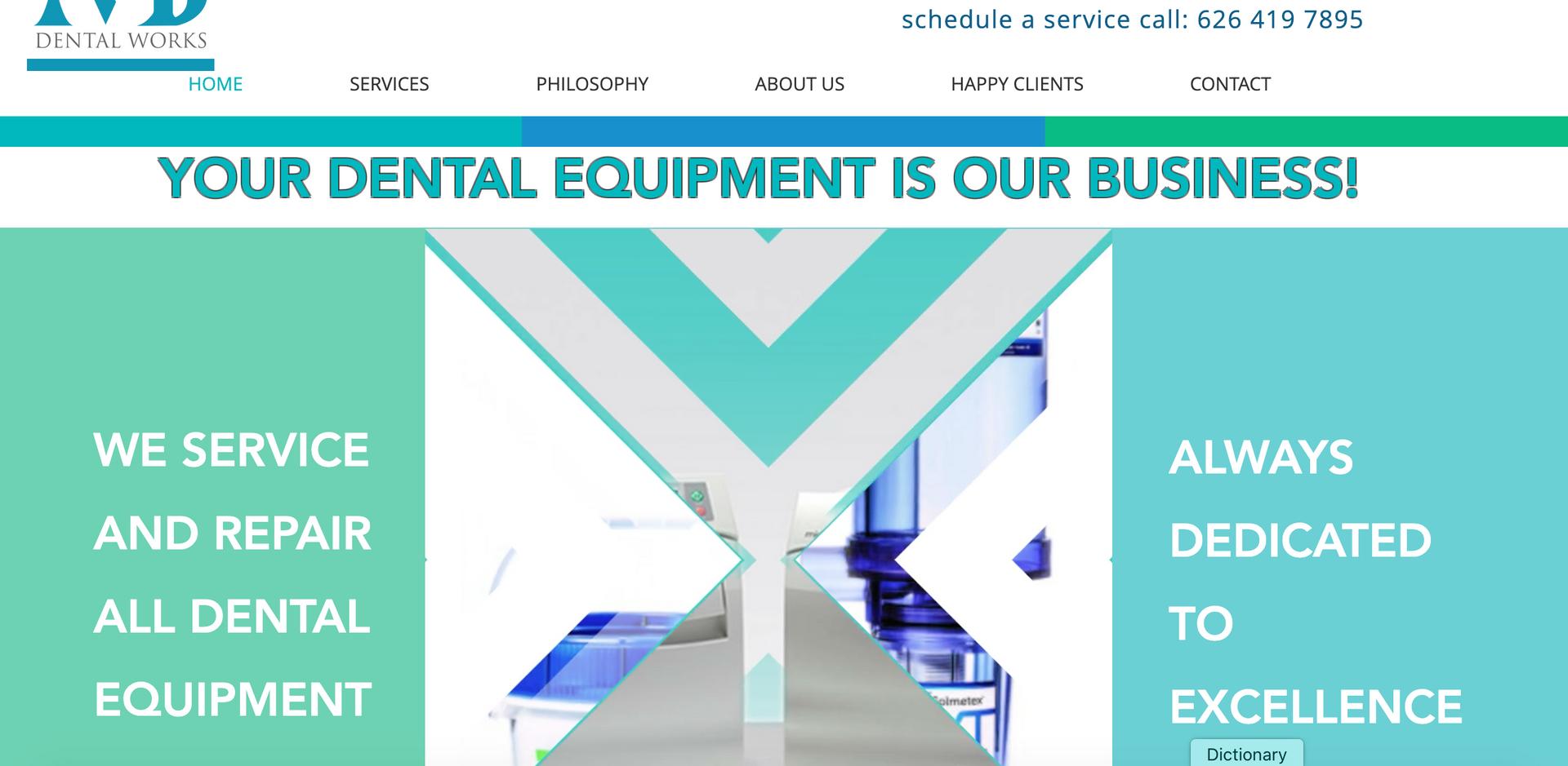 PROJECT: Dental Repair Equipment