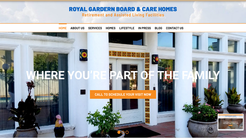 PROJECT: Boarding Care Homes