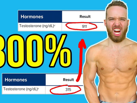 How I Tripled My Testosterone Level in 3 Weeks
