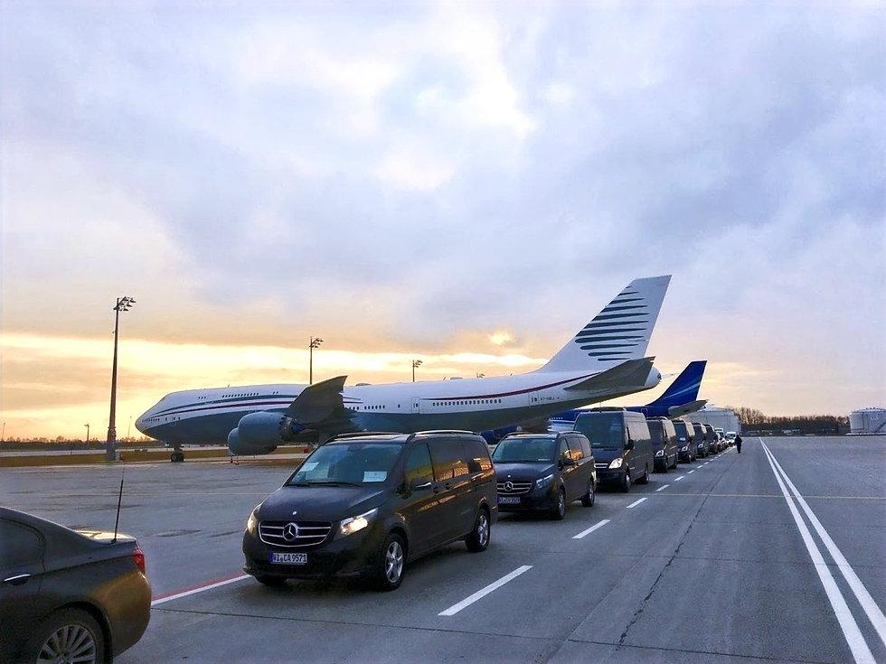 Chauffeur und Limousinen Service für Konsulate, Botschaften, Geschäftskongresse, Konferenz