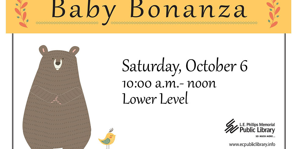 Pregnant & Postpartum Table at Baby Bonanza