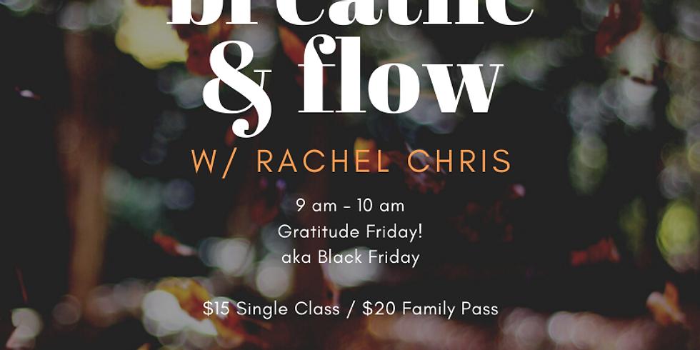 Gratitude Friday Breathe & Flow