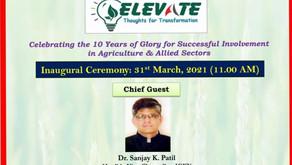 ELEVATE - Mega Online Event Inauguration