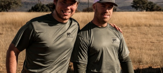 Soldiers For Wildlife Dri-Fit Green Tees