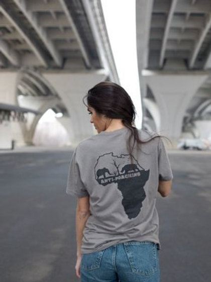 Soldiers For Wildlife Anti-Poaching Gray Tees