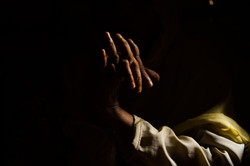 """""""The Stories We Can't Tell"""" Rohingya woman portrait by photojournalist and photographer Hailey Sadle"""
