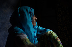 """""""The Stories We Can't Tell"""" portrait of a Rohingya woman by photojournalist and photographer Hailey"""