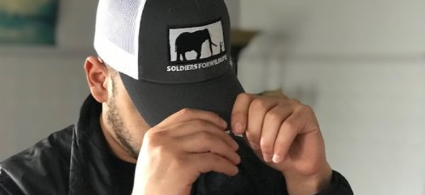 Soldiers for Wildlife Trucker Snap-Back Ball Cap