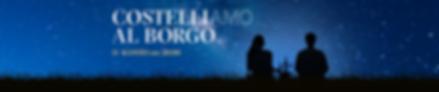 BORGO LA CACCIA_Cena sotto le stelle Ban