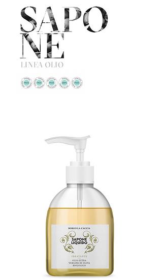 LINEA OLIO EXTRAVERGINE DI OLIVA BIO - Sapone Liquido
