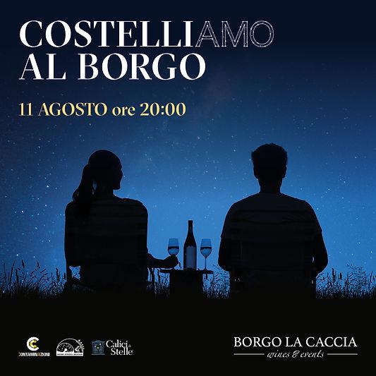BORGO LA CACCIA_Pic nic sotto le stelle_