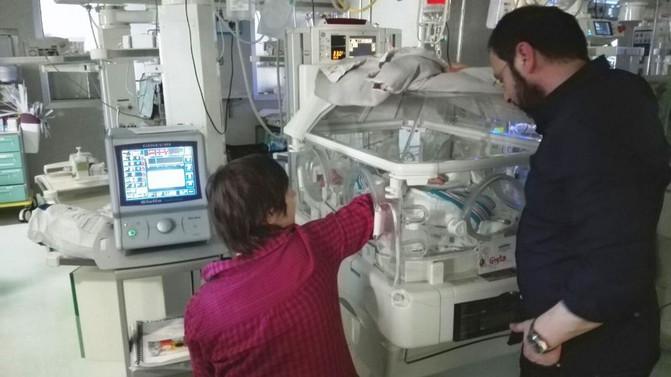 """All'ospedale Sant'Anna di Torino arriva Giulia, il """"Ventilatore gentile"""" per prematuri"""