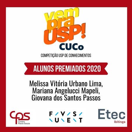 ALUNOS PREMIADOS CUCO 2020
