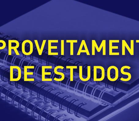 APROVEITAMENTO DE ESTUDOS 2020