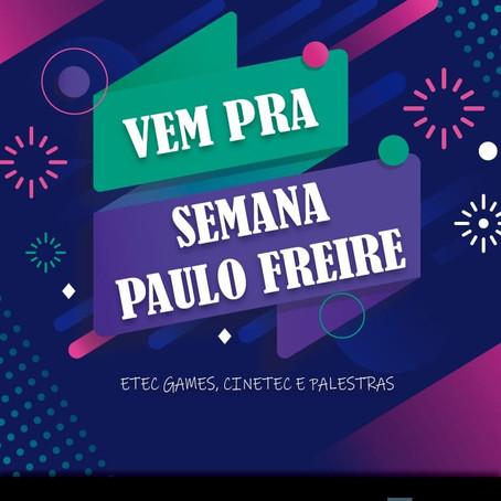 SEMANA PAULO FREIRE 2019