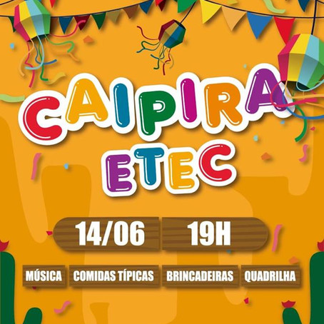 CAIPIRA ETEC 2019