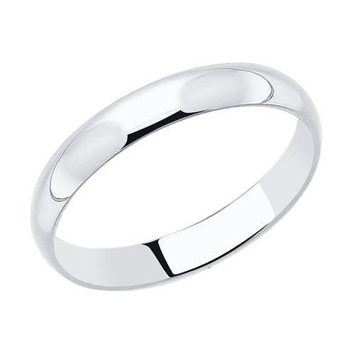 Кольцо обручальное 4мм