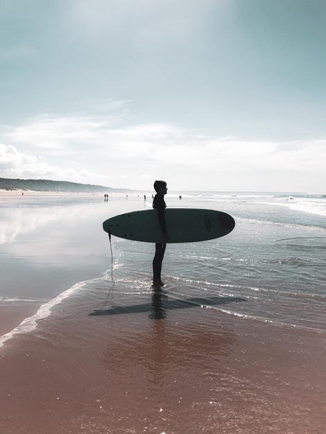 Como o surf entrou na minha vida.