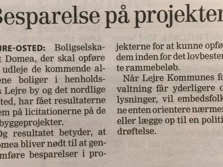 Rynkebjerggårds Almene boliger bliver for dyre