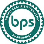 Board Certified Geriatric Pharmacist