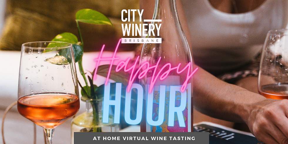 City Winery Happy Hour - In-home wine tasting