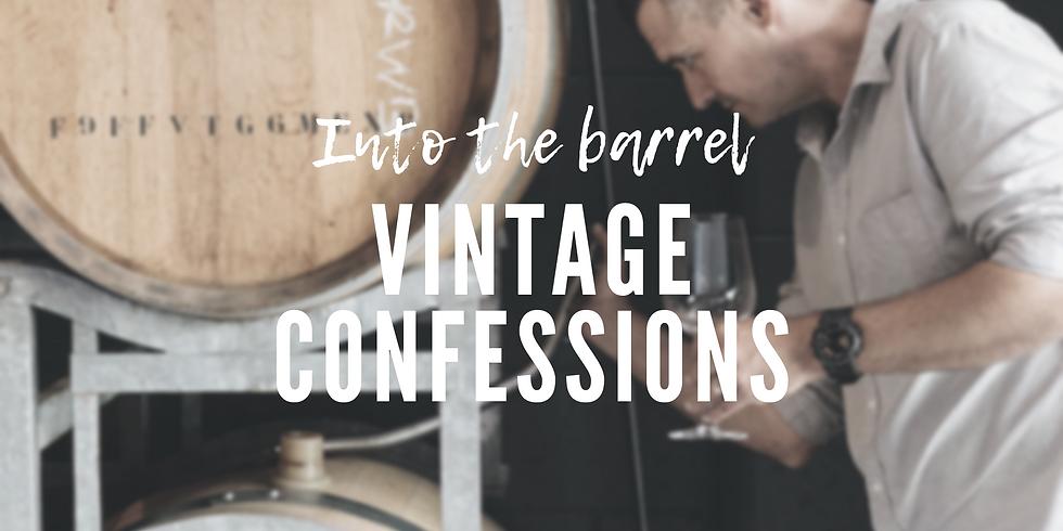 Into the Barrel - Vintage Confessions