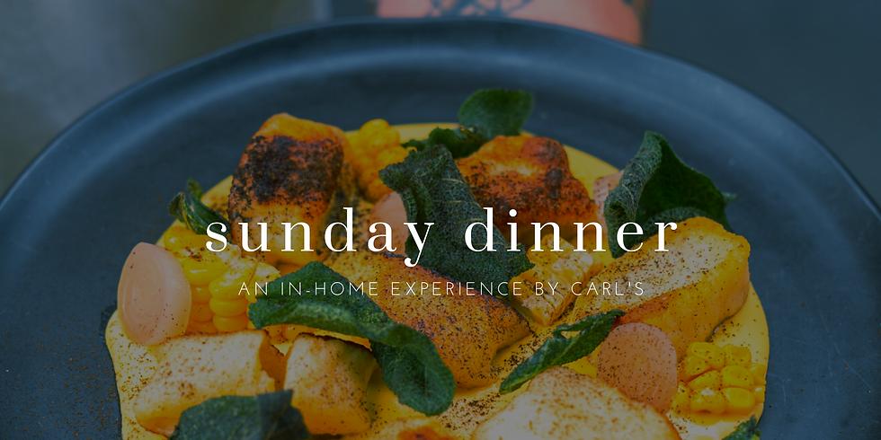 Sunday In-home Dinner