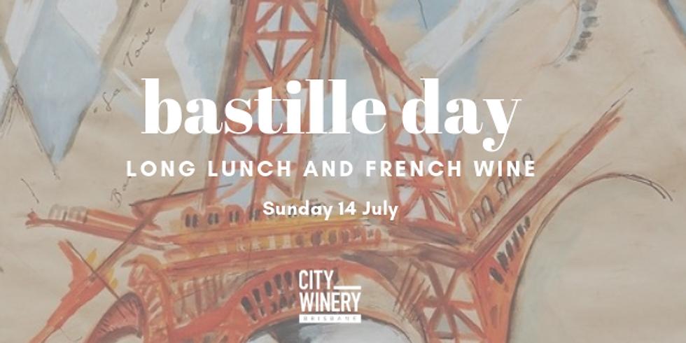 Bastille Day at City Winery Brisbane
