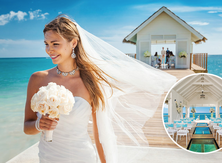 Dream Destination Wedding : Sandals and Beaches Resorts