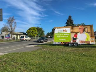 Rymans Healthcare Billboard