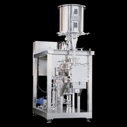 CONTINUOUS JET MIXER FOR POWDER AND LIQUID