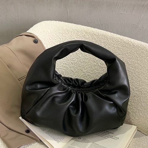 Bella Black Chunky Bag