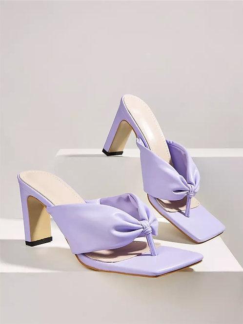 Kendal Pastel Heels - Purple
