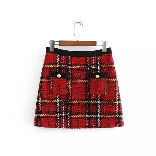Clare Tweed Mini skirt