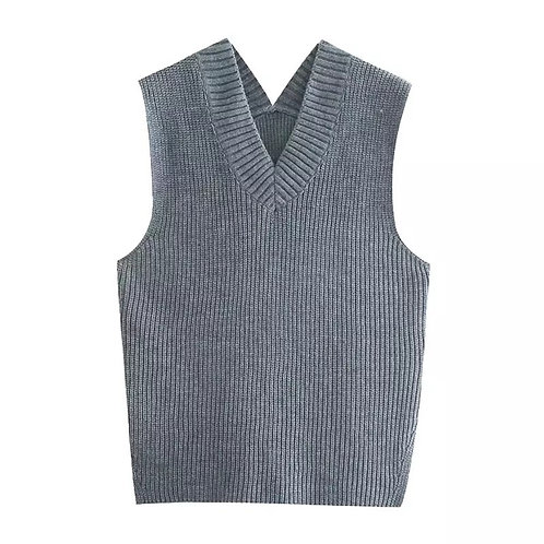 Molly Basic Knitted Vest