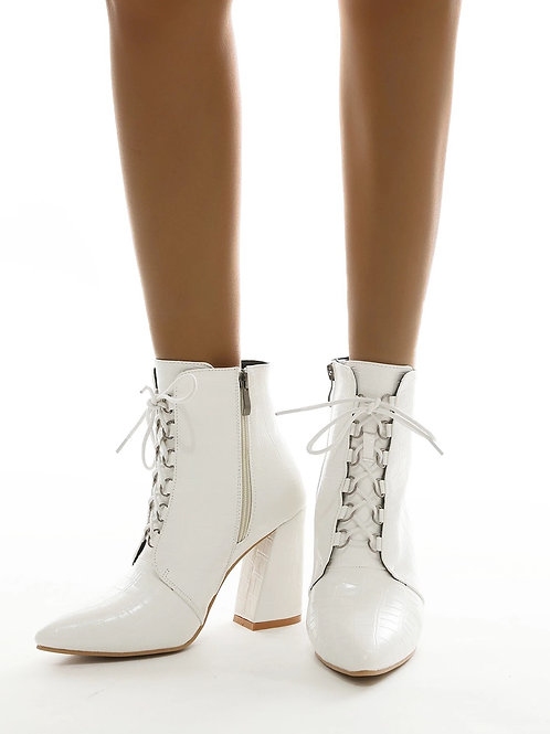 Misa Lace Up Ankle Boots