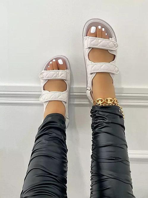 Saton 2021 Sandals - White