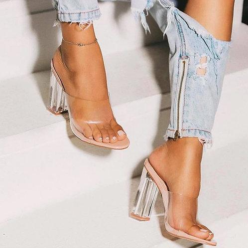 Kiny Clear Heels