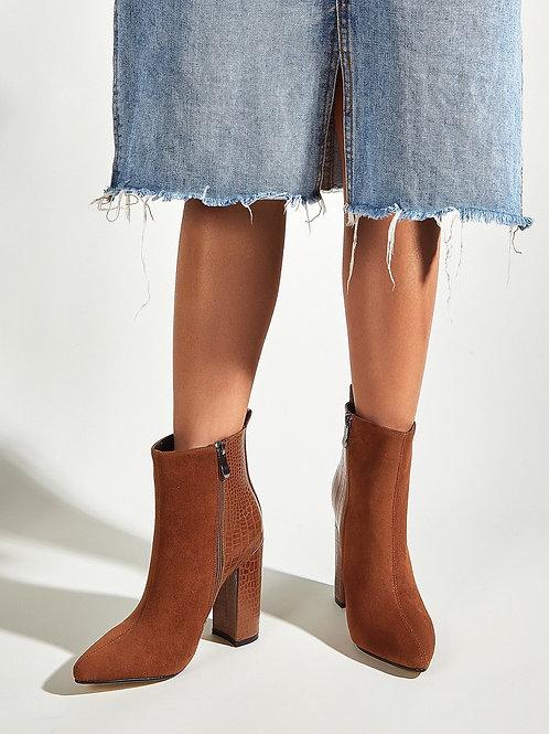 Zelda Mid-Calf Boots