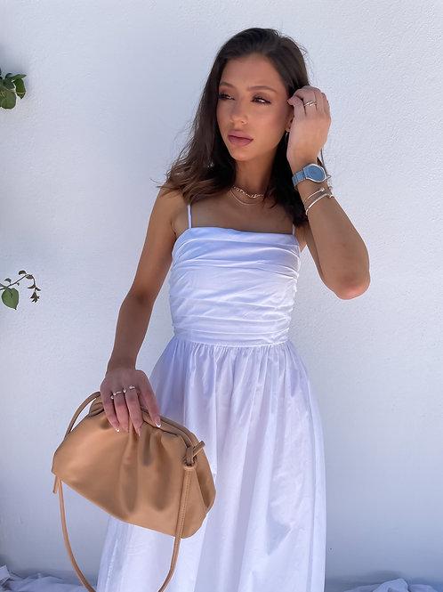 Carlie White Summer Dress