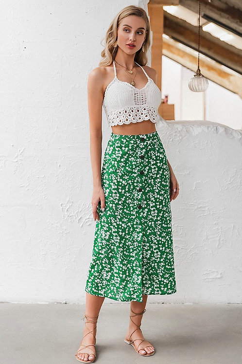 Choey Floral Skirt