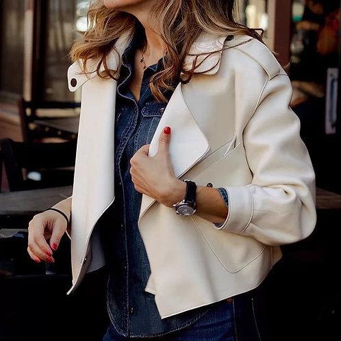 Siyara High quality Learher Jacket