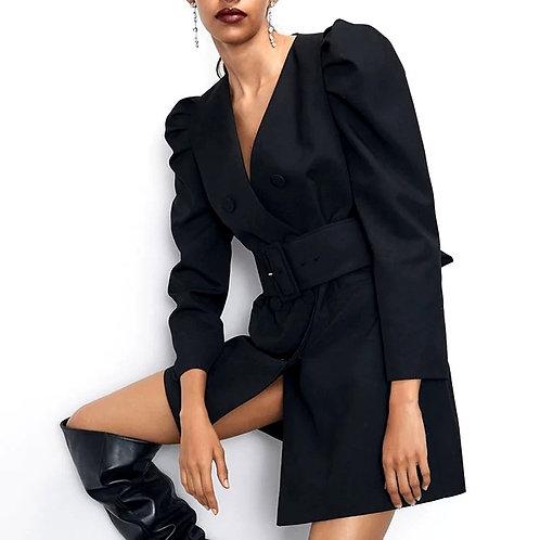 Salma Elegant Blazer Dress