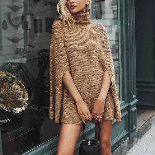 kai Cape Knit Sweater Pullover