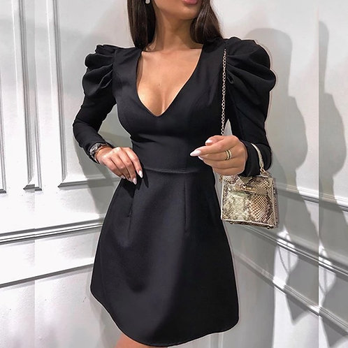 Lavia Puff Sleeve Dress