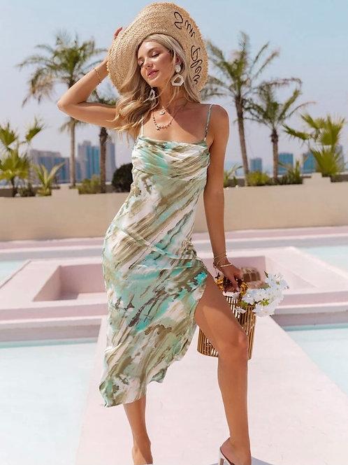 Mona Summer Midi Dress
