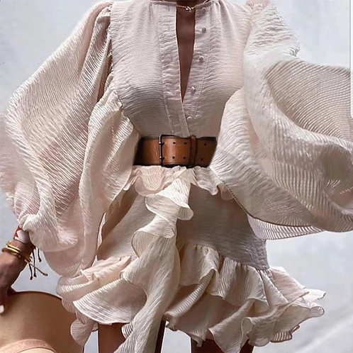 Adriana Ruffles Dress