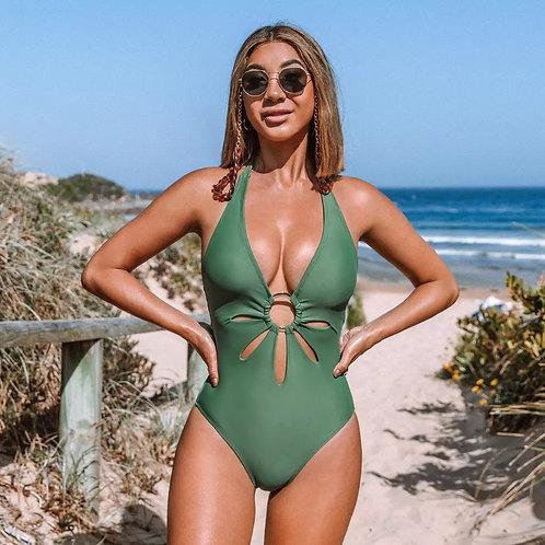 Sealia Green Swimsuits